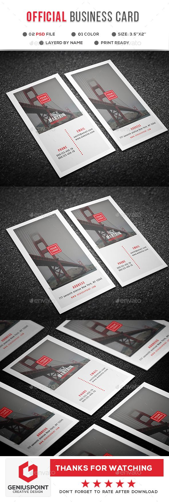 6262 best business card templates images on pinterest business official business card reheart Images