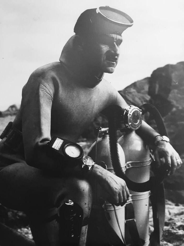 robert díaz prat, de palamós, precursor de la pesca submarina a catalunya