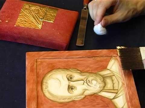 St Nikolas icon by Anton Dainenko #icons #videos #art #christianity