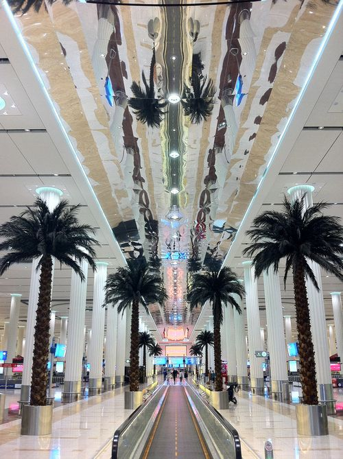 Dubai Airport I THOUGHT THIS WAS A MALL WHAT