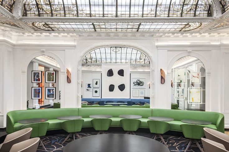 If you've done the rounds of Paris museums, from the stately Louvre to the exuberant Palais de Tokyo, you are ready to kick off your heels in a hotel covered in amazing art. On its 100th anniversar...