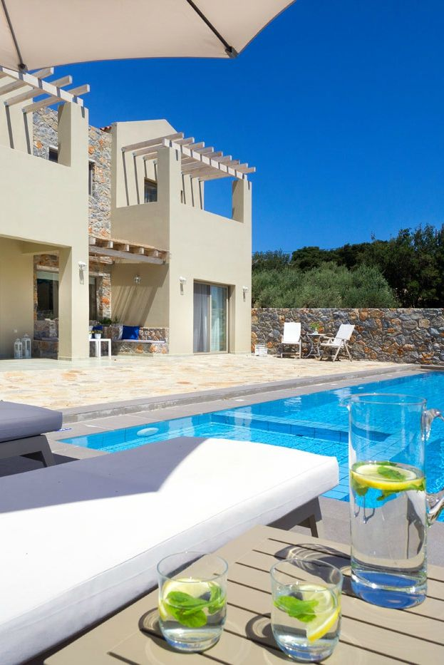 Stay in the brand new 2-bedroom Villa Ariti and enjoy the sunny weather of Crete!