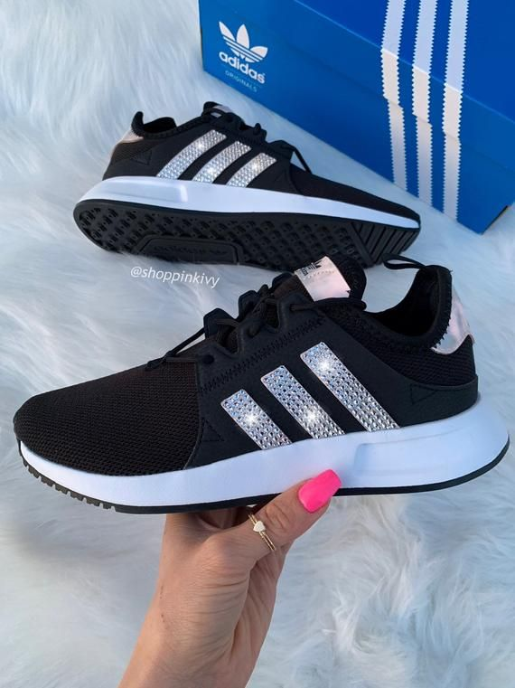 Brand New in Box Authentic Blinged Girls Grade School Adidas ...