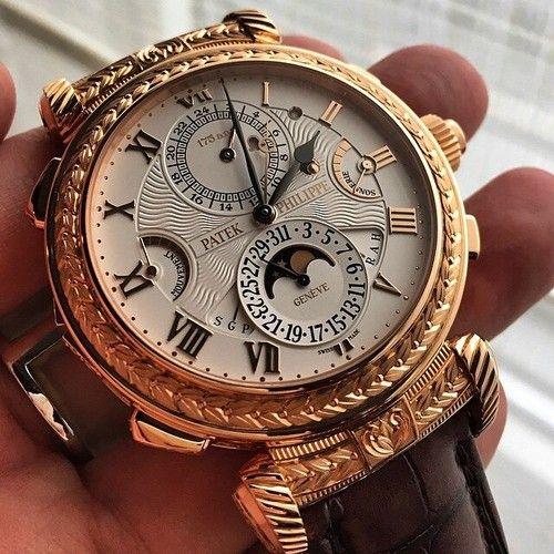 All time favorite= Patek Philippe Masterpiece: The Grandmaster Chime 5175R ~ Sense Of Luxury