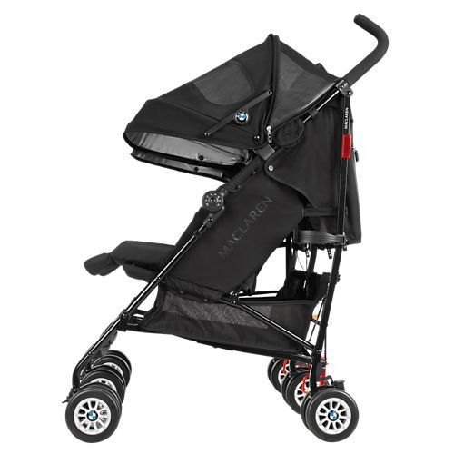 Amazon Com Maclaren Bmw Twin Stroller Black Baby