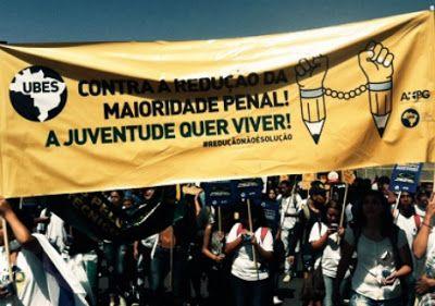 Blog do Arretadinho: Marcha contra a redução da maioridade penal nesta ...