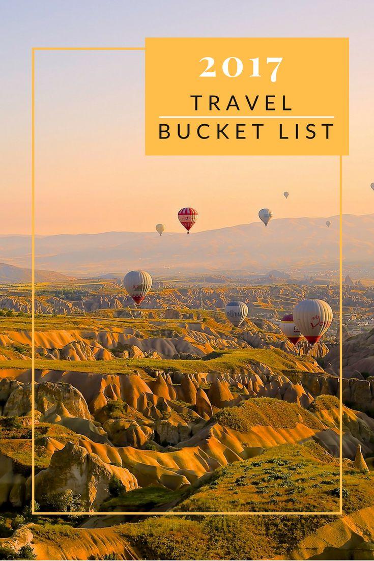 2017 Travel Destination Bucket List www.anexpatdiary.com