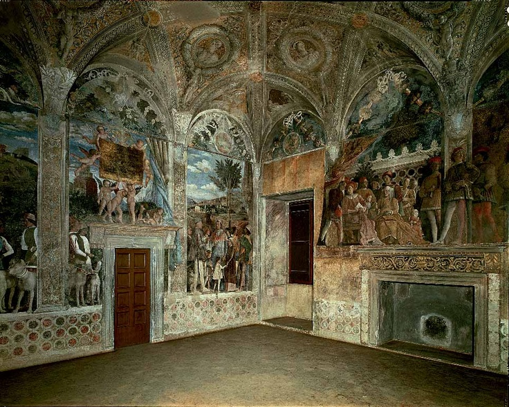 mantegna 39 s camera picta in the palazzo ducale mantua