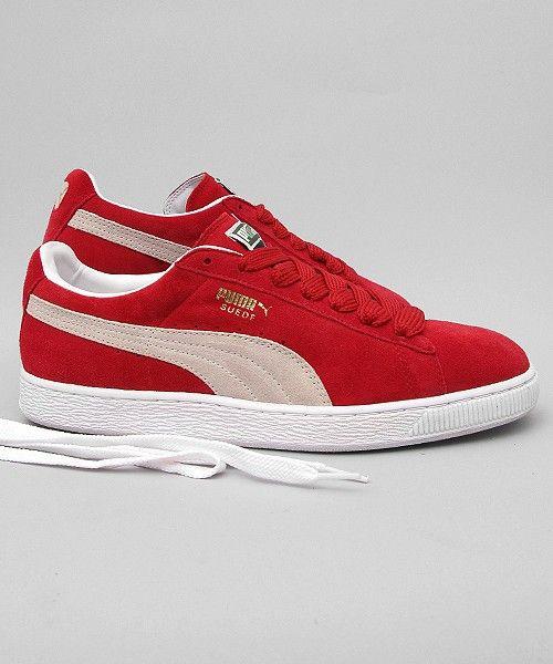 Red Puma Suede Classic✓