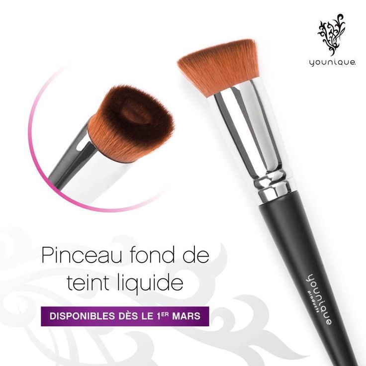 pinceau fond de teint maquillage younique france younique france chacune est younique avec. Black Bedroom Furniture Sets. Home Design Ideas