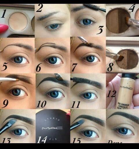 PERFECT Eyebrows tutorial?
