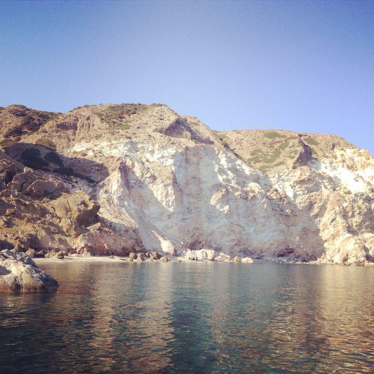 Milos island by boat
