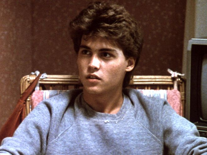No Tricks, Just Treats: Hot Hunks of Horror | JOHNNY DEPP | A Nightmare on Elm Street, 1984Ignore the part when the ill-fated Glen Lantz is reduced to a geyser of blood, and try to focus on his moody-hot teenage angst.
