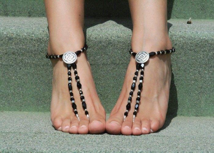 Black_Celtic_Barefoot_Sandals