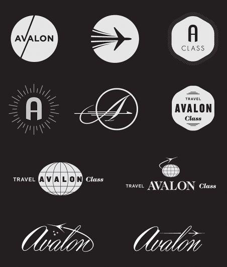 Interessante voorbeelden van (deels) gekaderde logo's