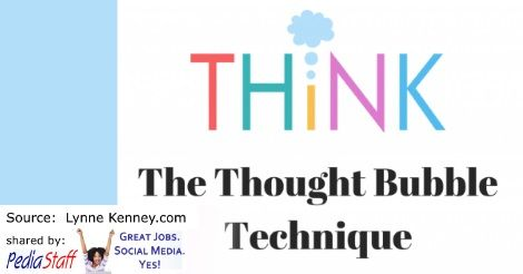 Pediatric Therapy Corner: The Thought Bubble Technique - pinned by @PediaStaff – Please Visit ht.ly/63sNtfor all our pediatric therapy pins