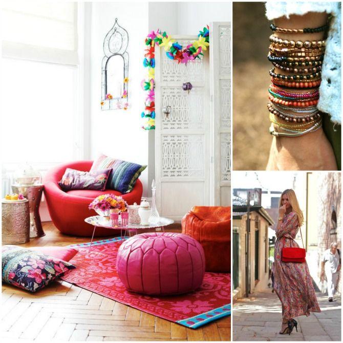 #excll #дизайнинтерьера #решения Boho Chic  - cтиль, который берет свои истоки в движении hippie и bohemian в 60-х и 70-х годах. В моде этот стиль символизируют макси платья, этнические и цветные принты и множество аксессуаров.