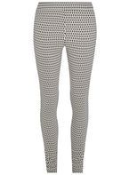 Womens **Tall Grey Column Bengaline Trousers- Grey