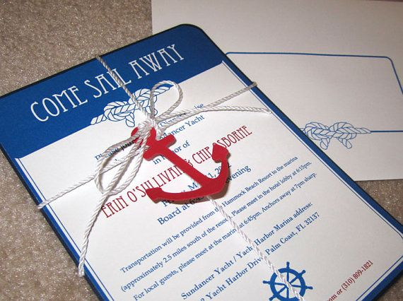 Best 25 Cruise Quotes Ideas On Pinterest: Best 25+ Nautical Invitations Ideas On Pinterest