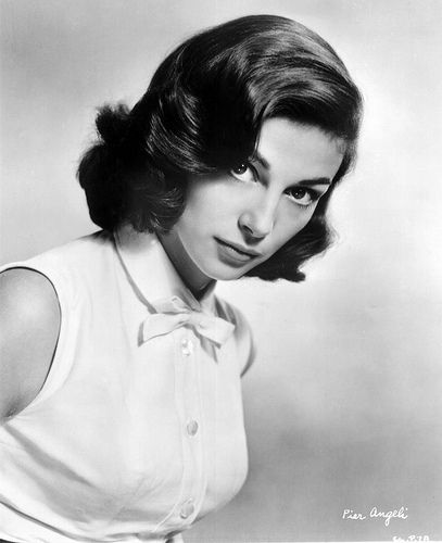 Pier Angeli (born: June 19, 1932, Cagliari, Italy - September 10, 1971, Beverly Hills, CA, USA) was an Italian-born television and film actress. Her American cinematographic debut was in the starring role of the 1951 film Teresa, for which she won a Golden Globe Award for Young Star of the Year - Actress.