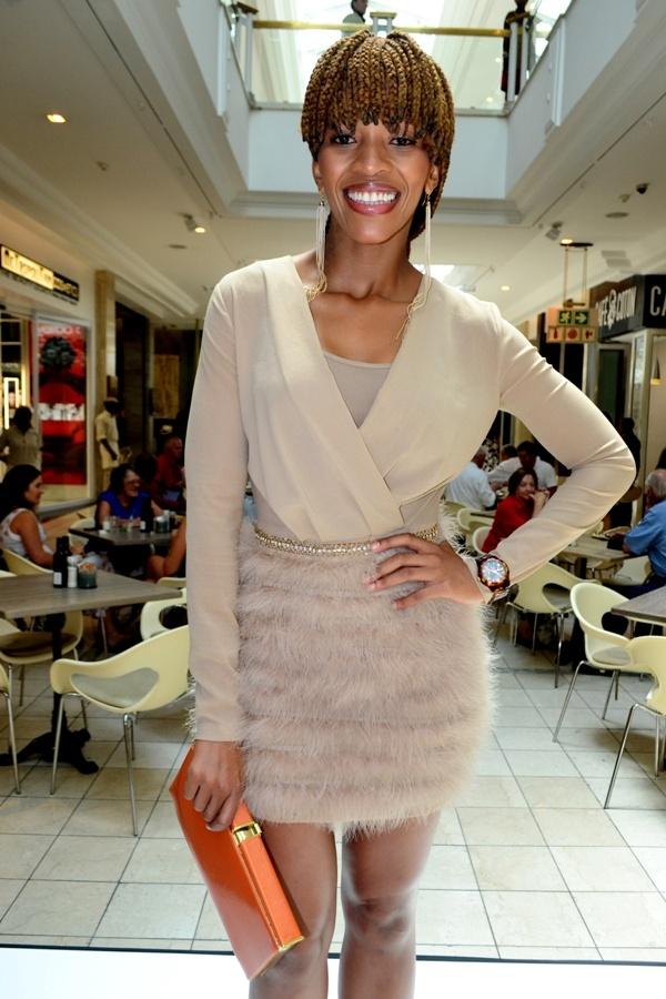 Poppy Ntshongwane for Elisabetta Franchi | Celeb Style ...