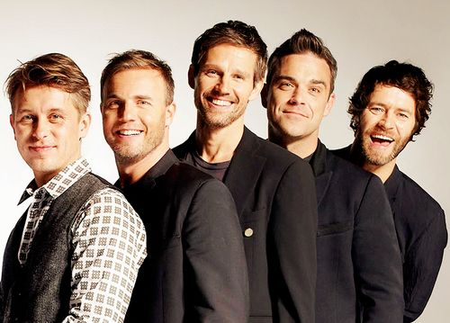 Take That - the ultimate boy band!I loved them through my childhood and still do
