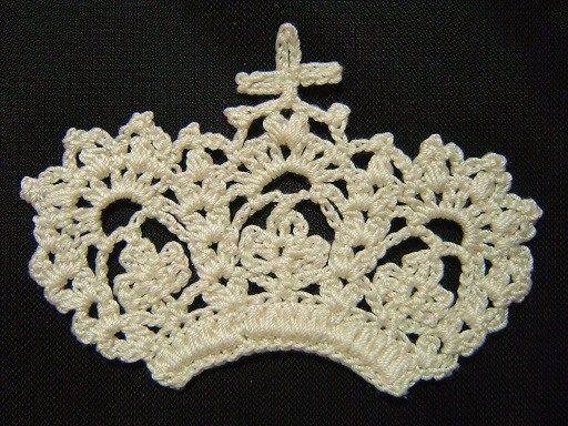 Crochet a little : corona schema