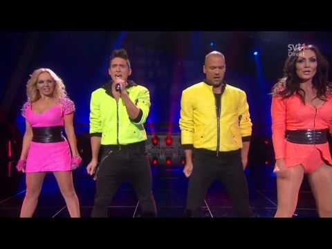 Alcazar & Danny Saucedo - Alcazar Medley (Live Melodifestivalen 2013 - semi)