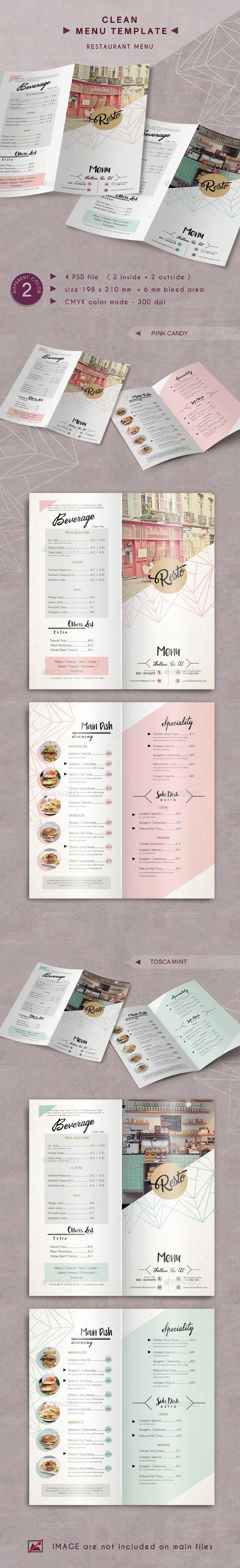Best 25 Restaurant menu template ideas – Restaurant Menu Templates