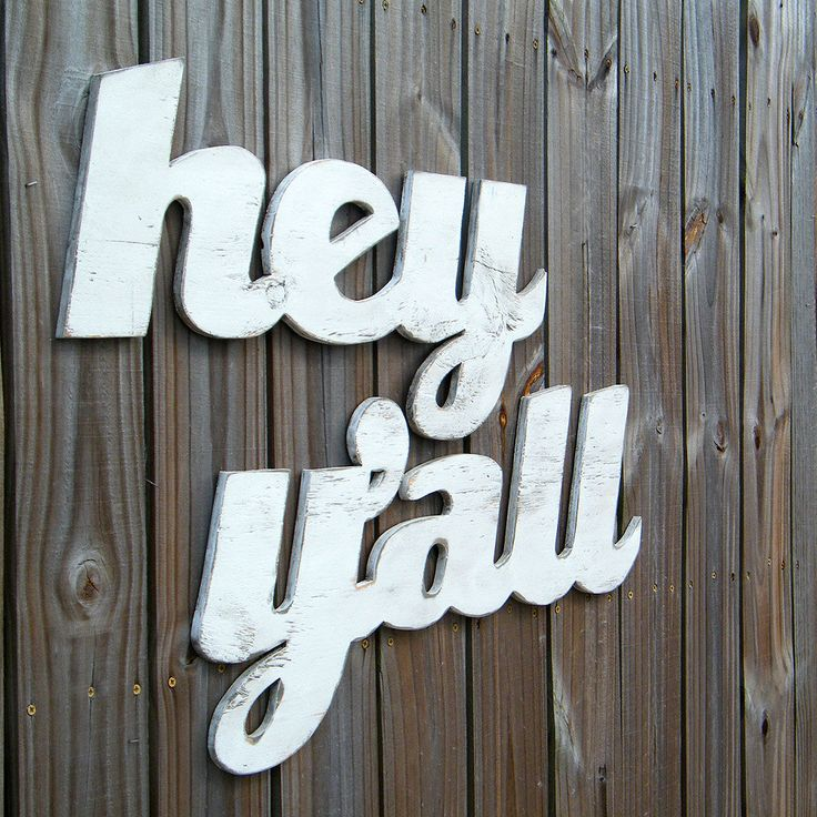 Southern Home Decor Hey Yall Sign Medium Southern Slang Home Decor By Slippinsouthern