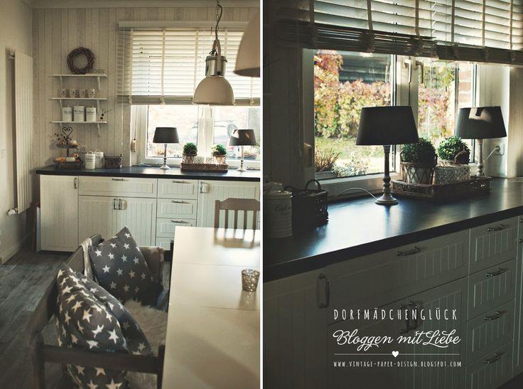 25 best Dorfmädchenglück images on Pinterest Decoration, House and - küche ikea landhaus