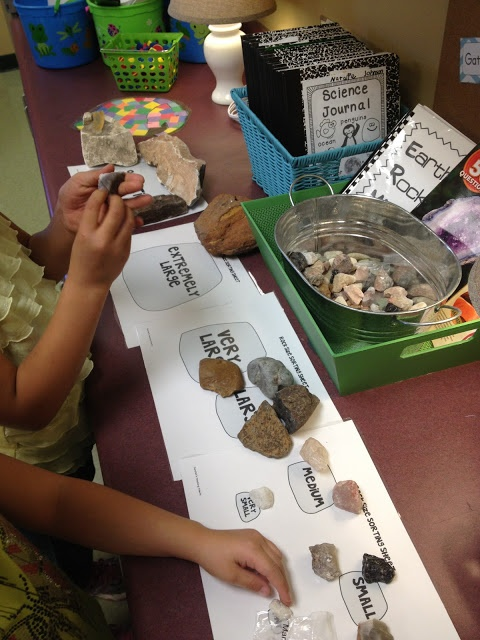 Rockin Rocks!  Great Rock centers to help make studying rocks understandable for young learners!