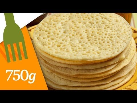 Crêpes mille trous ou Baghrirs - 750 Grammes - YouTube