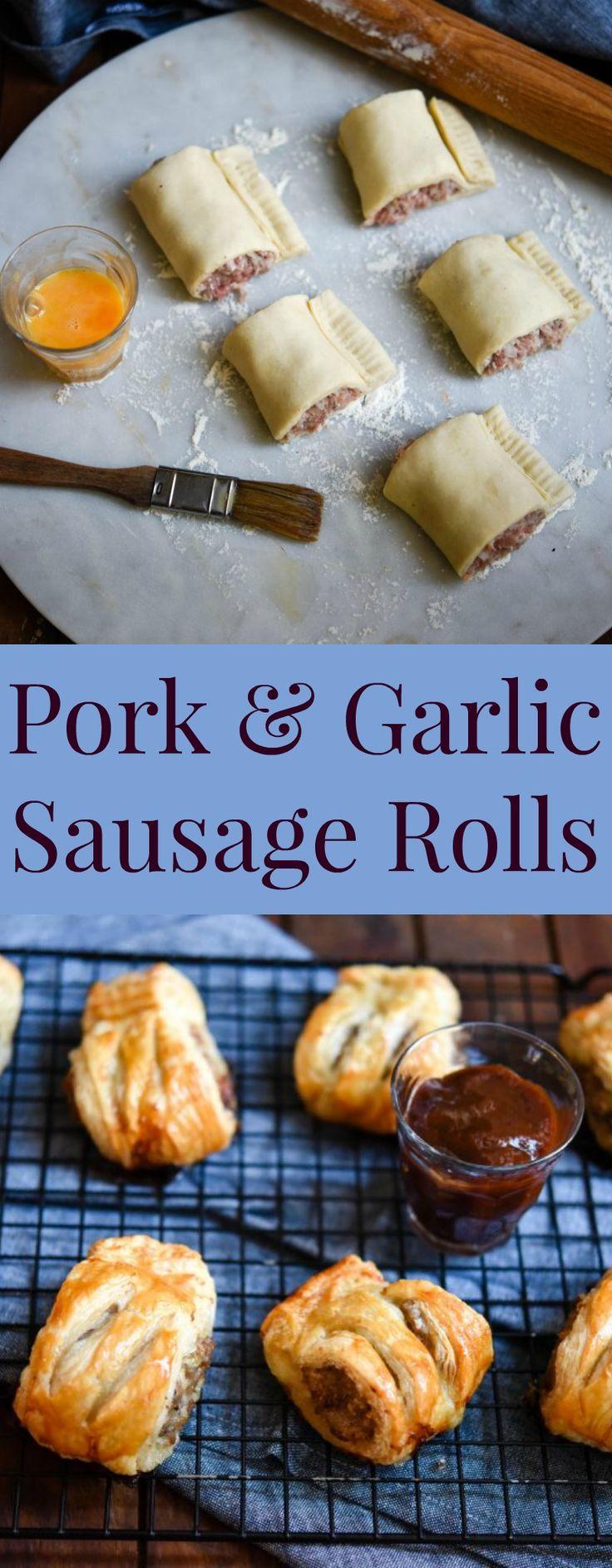Pork & Garlic Sausage Rolls   Patisserie Makes Perfect