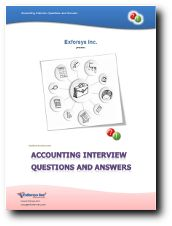 This Accounting Interview Questions and Answers PDF contains 30 question and answers.