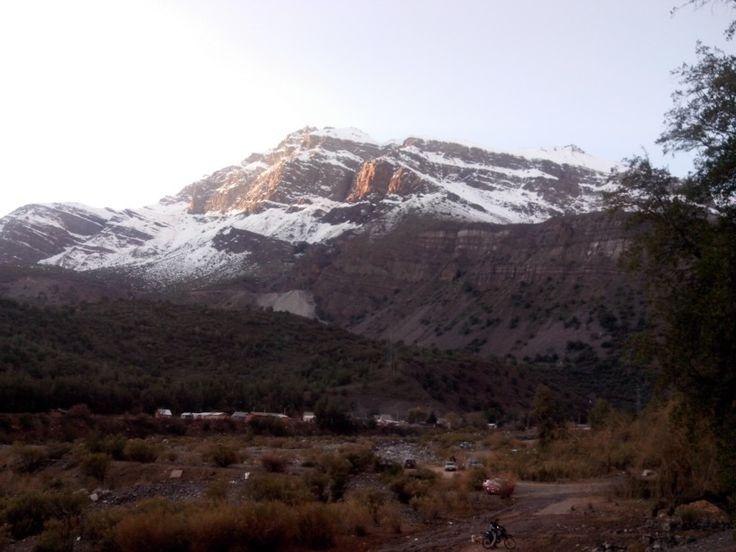 Cordillera. El Alfalfal. Chile.