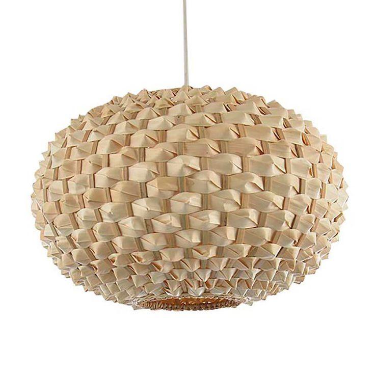 Colours Bolsena Hedgehog Lamp Shade (D)30cm | Departments | DIY at B&Q