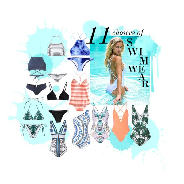 11 CHOICES OF SWIMWEAR by lauraaugustinus on Polyvore featuring Peixoto, Mara Hoffman, Clover Canyon, J.Crew, Tart Collections, Ack, Topshop and Melissa Odabash