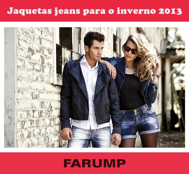 O inverno 2013 vem aí! As jaquetas jeans serão peças chave para compor looks modernos e quentinhos. Veja os modelos Farump!