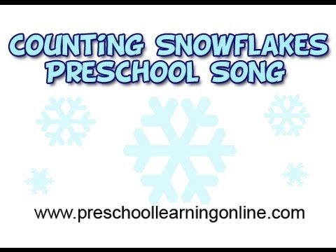 counting songs for preschool winter songs for preschool counting snowflakes activity 415