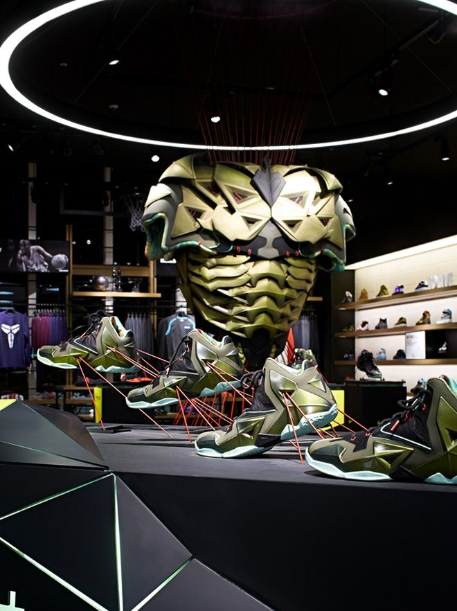 Nike Basketball store in chiba Japan by design studio Specialnormal