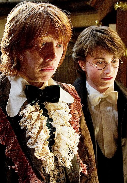 HAH! Ron's face is priceless lol
