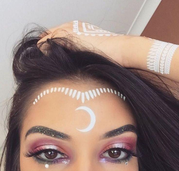 ... makeup on Pinterest : Festival makeup, Rave makeup and Coachella