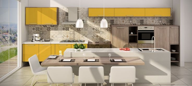 Cozinha - Zurich e Lacca Horus
