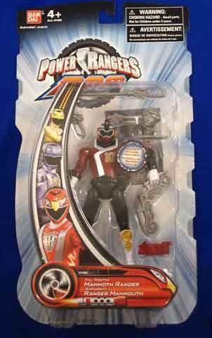Amazon.com: Power Rangers RPM: Full Throttle Mammoth Ranger Red: Toys & Games