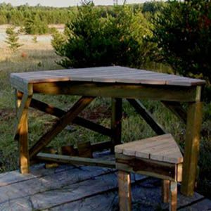 Free Wooden Shooting Bench Plans - WoodWorking Projects