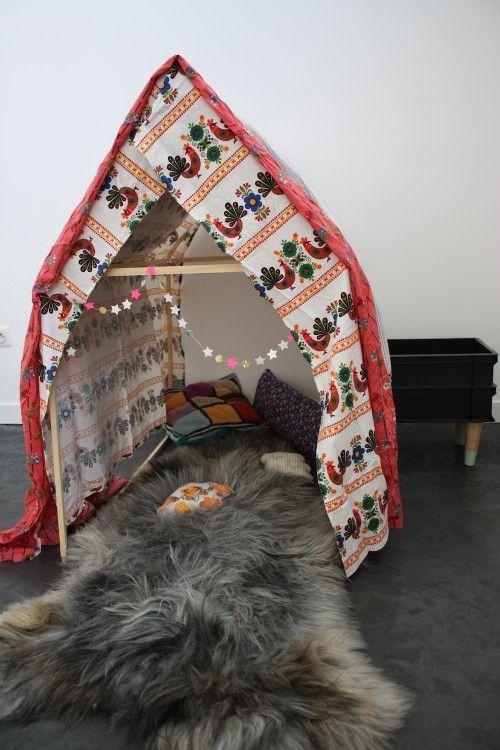 cabane enfants diy
