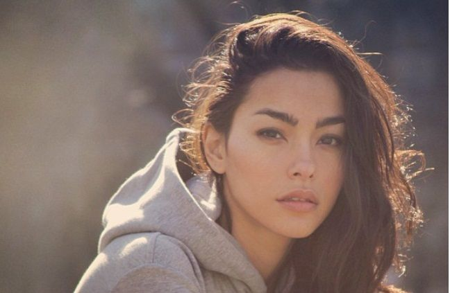 Adrianne Ho//female, young adult, adult, brown hair, brown eyes, dark eyes, freckles, biracial, Chinese