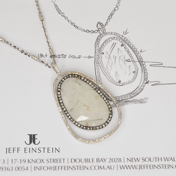 Looking for a unique piece of jewellery this holiday season? We have new and exciting pieces now in store, like this 18ct White gold diamond and rutilated Quartz pendant  #jeffeinsteinjewellery #doublebay #diamonds #rutilatedquartz #pendant #jewelry #jewellery #jewelleryaddict #whitegold #style #fashion #sparkle #weddingideas #weddingdress #christmas #gifts
