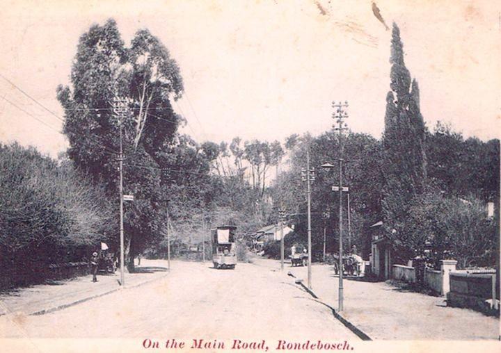 Main Road Rondebosch - c1900